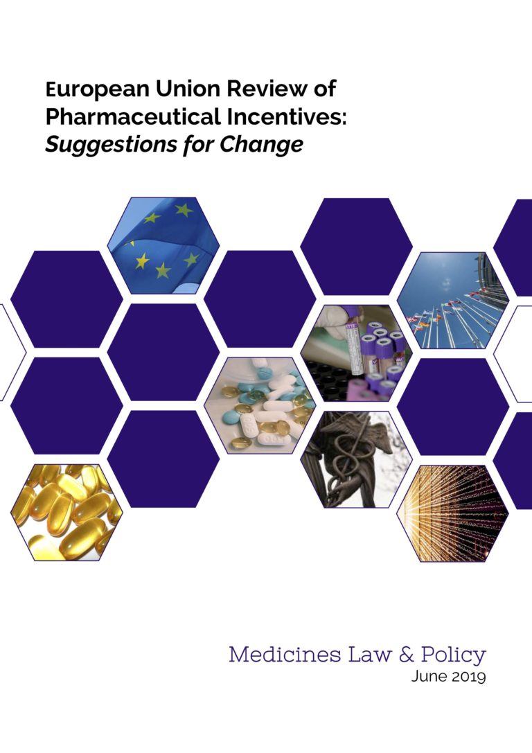 EU Review of Pharmaceutical Incentives: Recommendations for Change